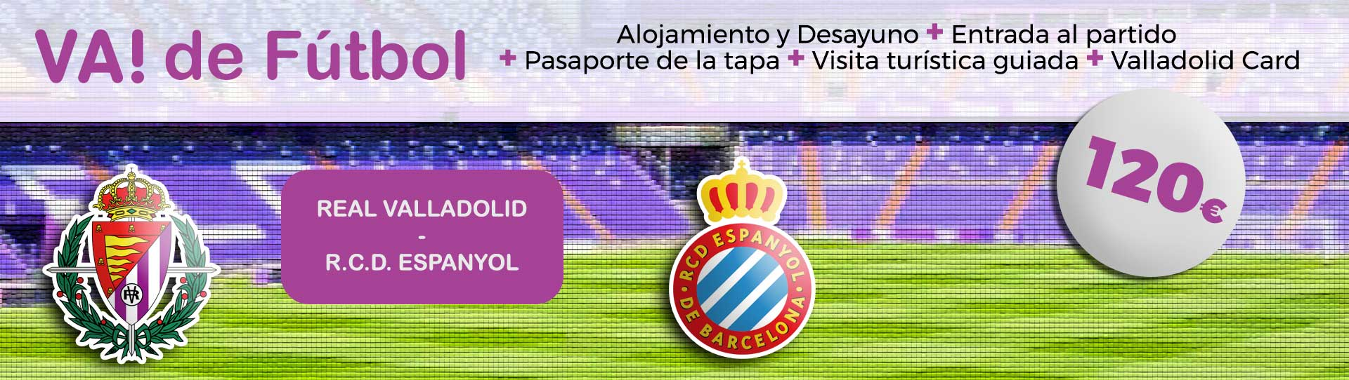 VA de Fúlbol (Real Valladolid – RCD Espanyol)